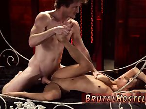 firm bondage bang and sadism & masochism scene first-ever time scanty tiny Jade Jantzen, she just wanted to
