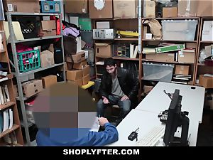 Shoplyfter super-fucking-hot nubile pounded For Stealing Infront Of father
