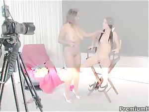 fortunate with her mommy lesbo Bonnie Skye