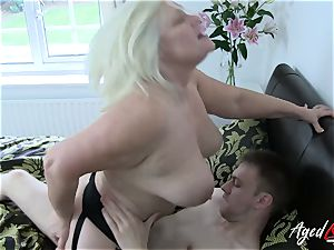 AgedLovE hardcore with sizzling Mature Lacey Starr