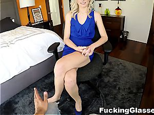 porking Glasses - supreme screw with a new blonde