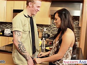 excellent wifey Gianna Nicole gets smashed in kitchen