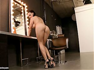 massive breasted Aletta Ocean enjoys dipping her cool frigs in her simmering fuckhole