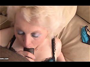 black stiffy craving for grandma in xxx interracial