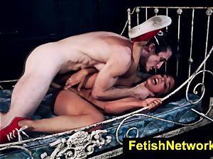 HostelXXX Gina Valentina bondage & discipline apartment poke