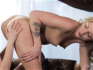 Allie Haze having fun with her ladies