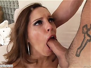 young stud came to his girlfriend and pounded her super-naughty mom