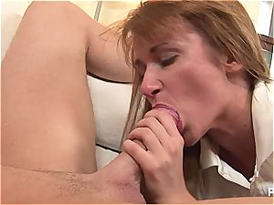 Mary's cute oral fetish