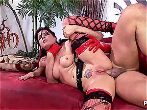 cork foreplay with Dana