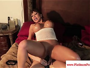jaw-dropping Brandi May and Ava Devine play with toys