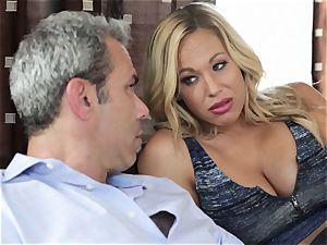 super hot platinum-blonde wife Olivia Austin The Key Sn 4
