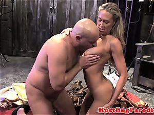 Brandi love making varys deep-throat his explosion